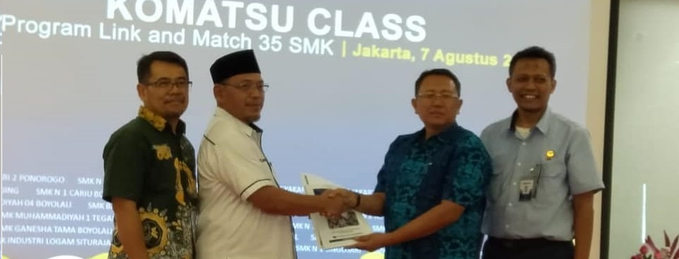 Lounching Kelas Industri Program Link and Match